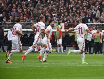 2. BL. Saison 2017/18 - FC Ingolstadt -FC St. Pauli- Foto Roland Geier